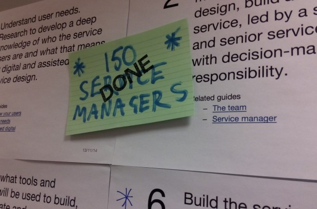 150 Service managers