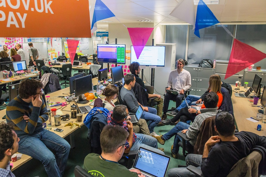 Office environment GDS 2016