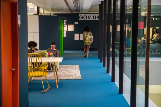 Modern GDS office space