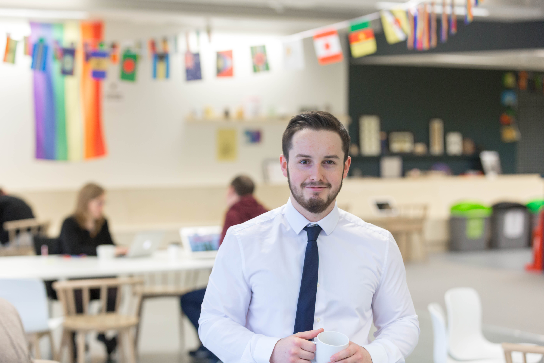 Andrew Clarke HSE apprentice