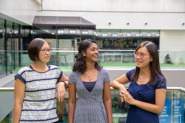 Maisie Fernandes, Venus Bailey, Irene Lau , GDS