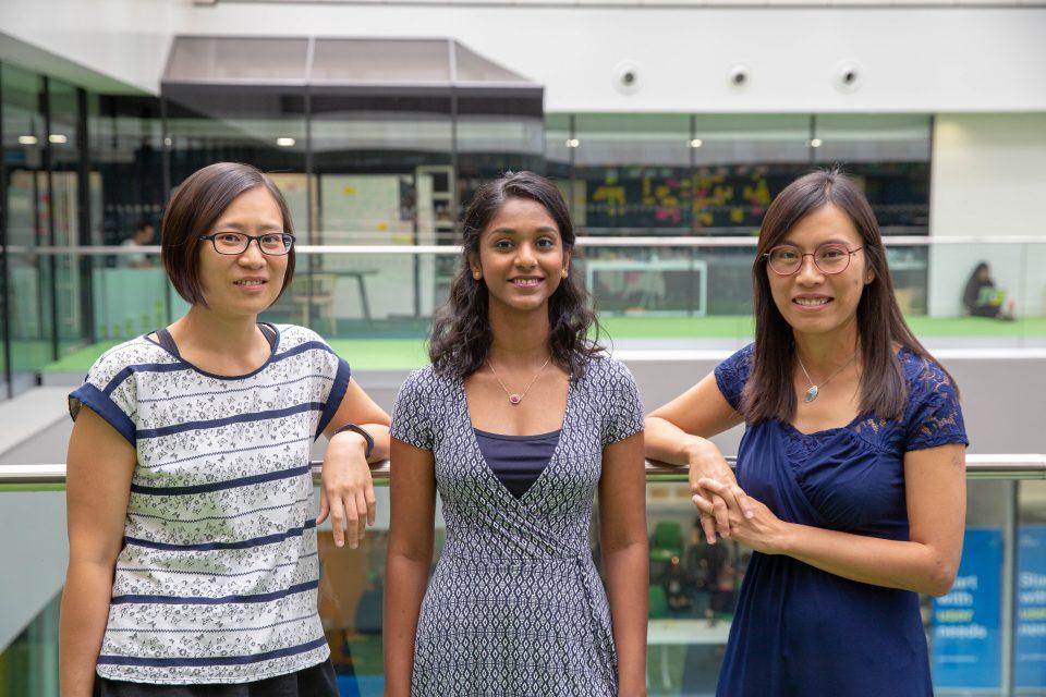 Irene Lau, Maisie Fernandes, Venus Bailey, GDS