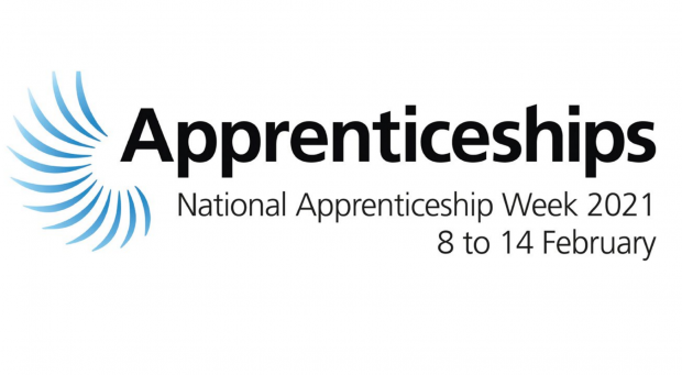 National Apprenticeship Week logo 2021